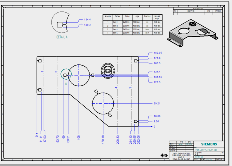 Accurate-drawings-of-sheet-metal-parts-CAD Drawing & Drafting