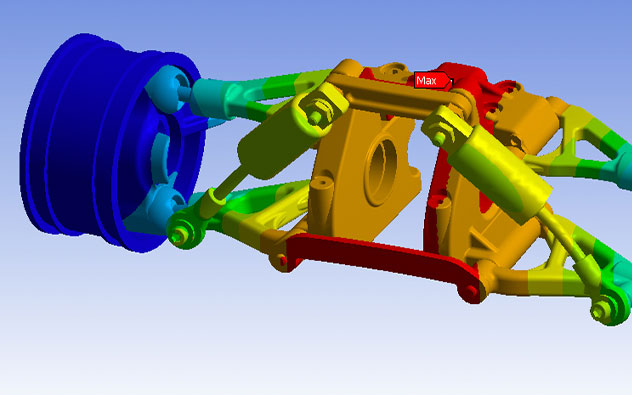 Simulation software solutions - ANSYS CAE-3D Enginnering Automation LLP