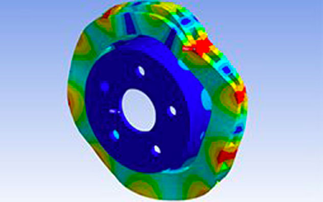 ANSYS vibration analysis 3D Engineering Automation LLP