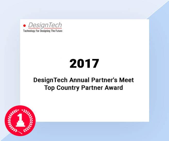 designTech annual partners meet top country partner award by siemens 2017
