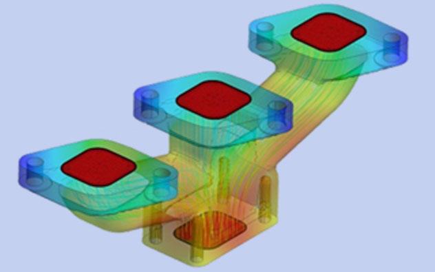 thermal-fsi-ansys