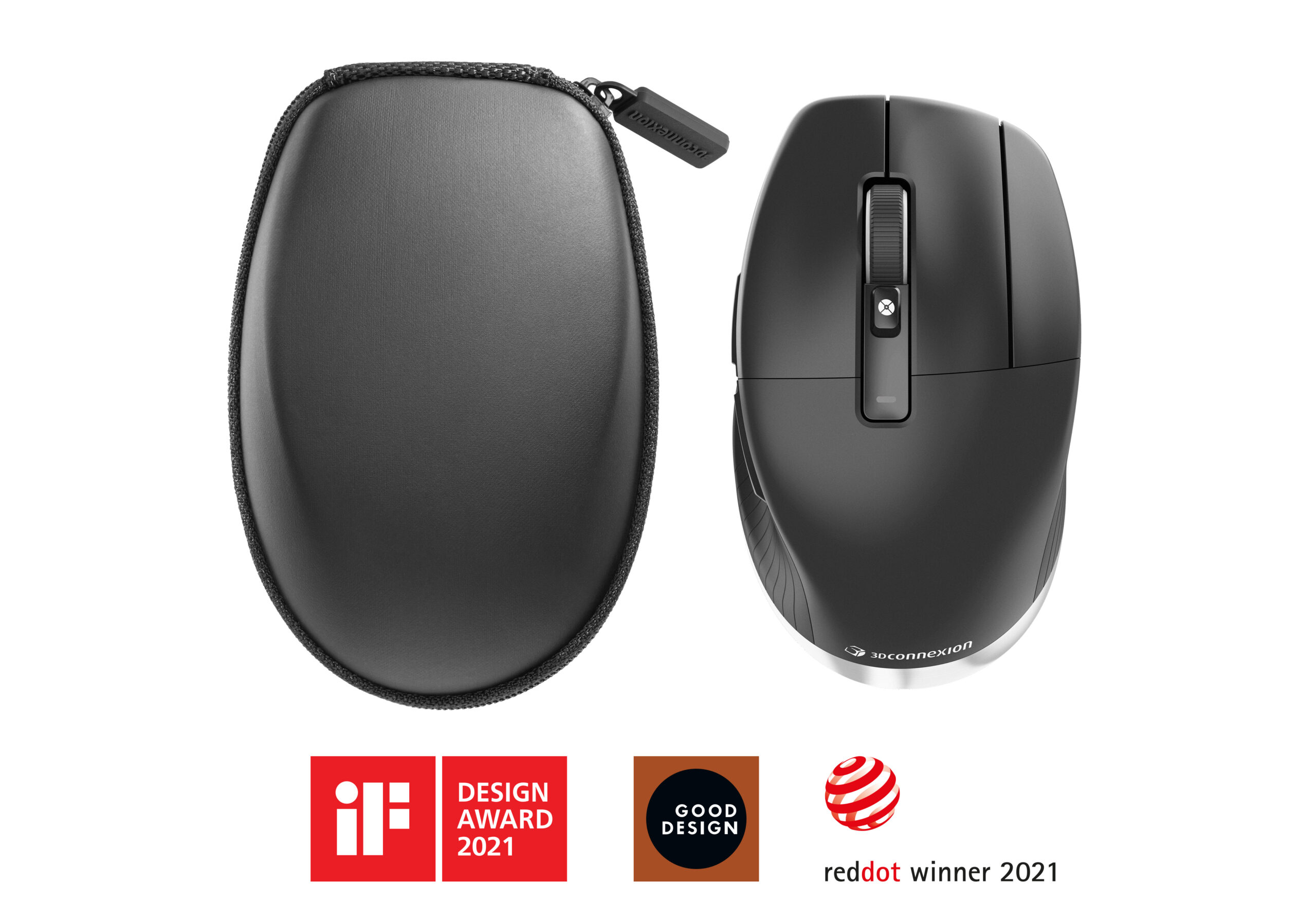 CadMouse Pro Wireless Left 3Dconnexion 3D Engineering